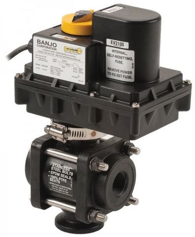 "Electric Valves - 3/4"" - 2"" 3 Way (Bottom Load)"