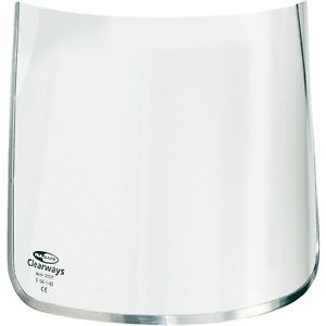 Honeywell Clearways Visor Replacement 200mm Polycarbonate Clear