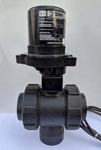 "Electric Ball Valve - 2 & 3 Way (1"" to 2"")"