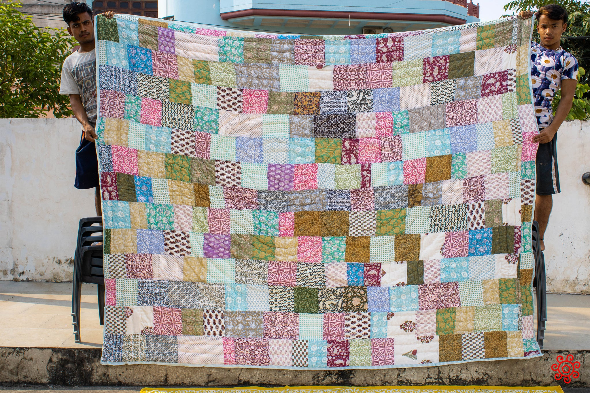 All New Roysha 2020 Quilt Collection - 100% Handmade Queen Patchwork Quilt QPW-215