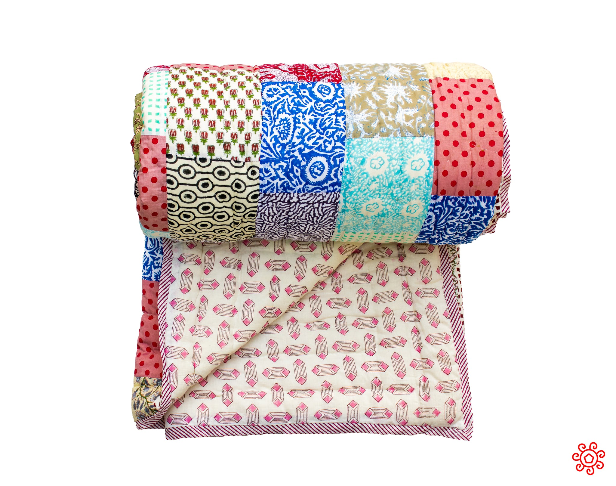 All New Roysha 2020 Quilt Collection - 100% Handmade Queen Patchwork Quilt QPW-223