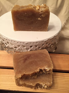 O.M.H. (Oatmeal Milk n Honey) Cocoa Shea Butter Soap - thesoapybar