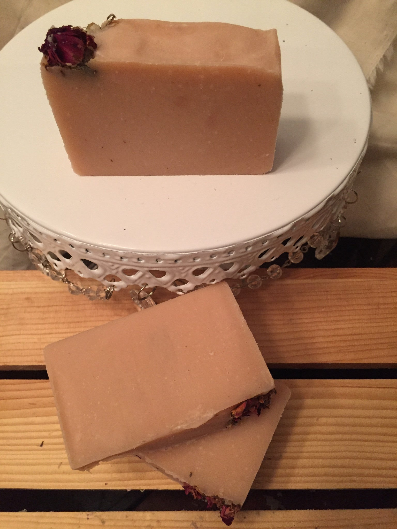 Roses Cocoa Shea Butter Soap - thesoapybar