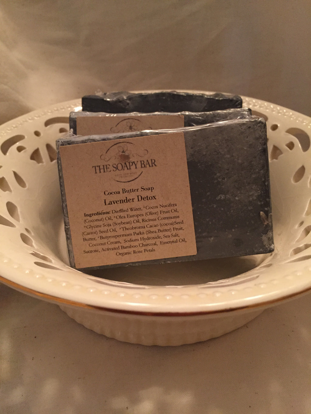 Lemongrass Charcoal Detox Soap - thesoapybar
