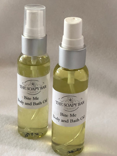 Eucalyptus Spearmint Body Oil - thesoapybar