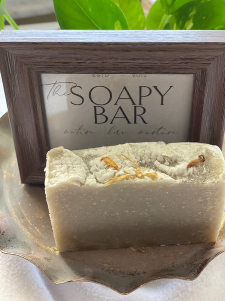 Cerassee Calendula Herbal Cocoa Shea Butter Soap
