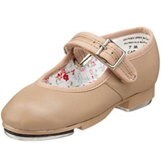 Tween/Adult Buckle Tap Shoe