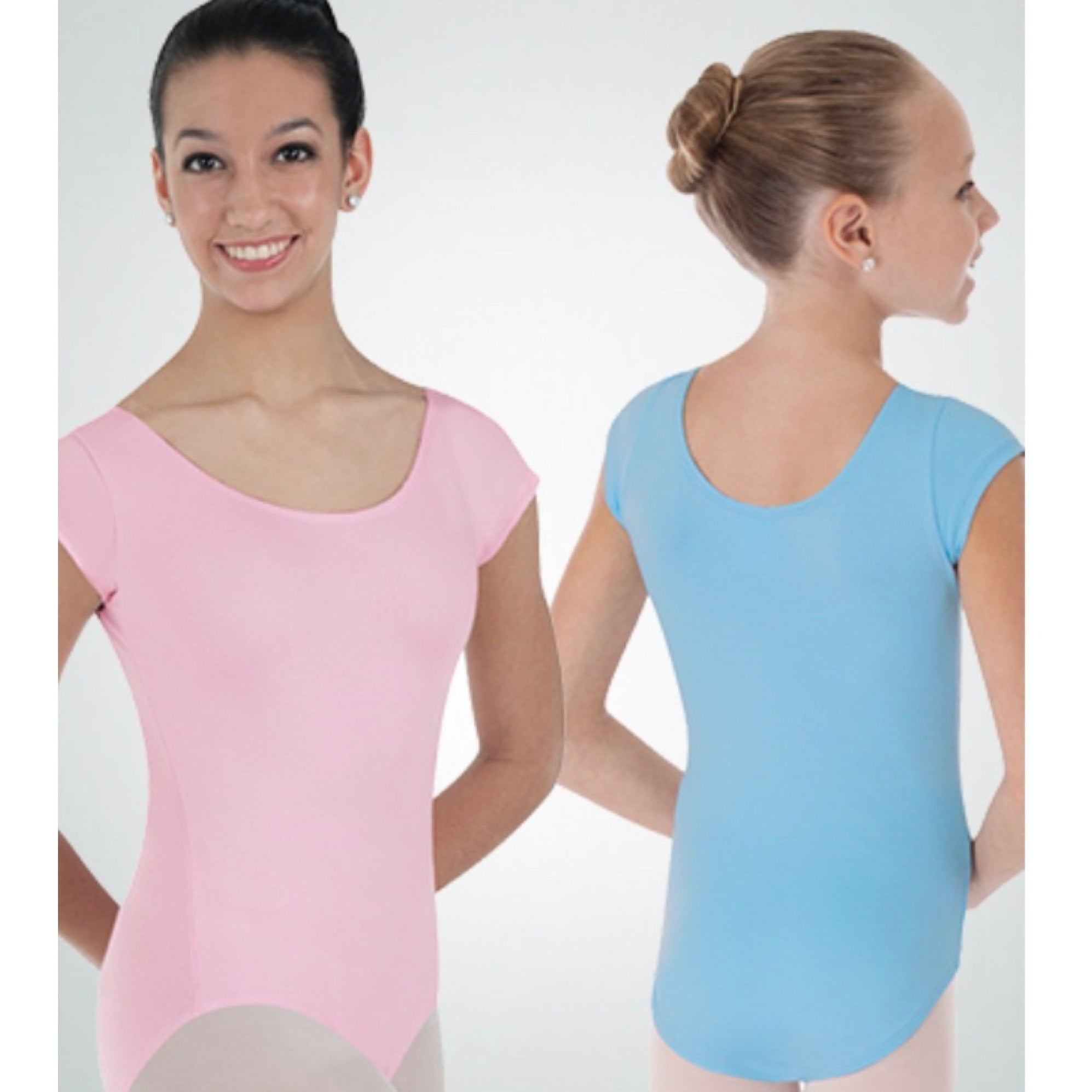 Child's Cap Sleeve Leotard