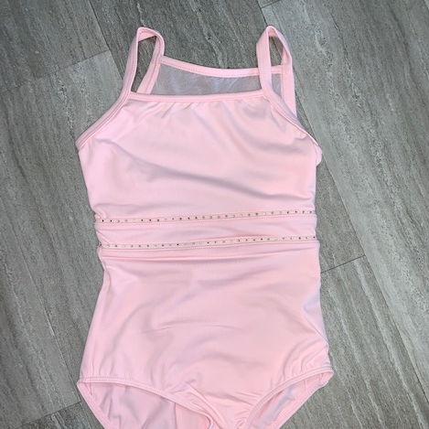 Diamante Trim Cami Leotard
