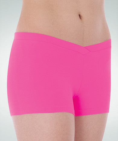 BODYWRAPPERS BWP083 GIRLS V-FRONT SHORT