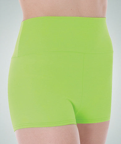 BODYWRAPPERS BWP284 LADIES HIGH WAIST SHORT