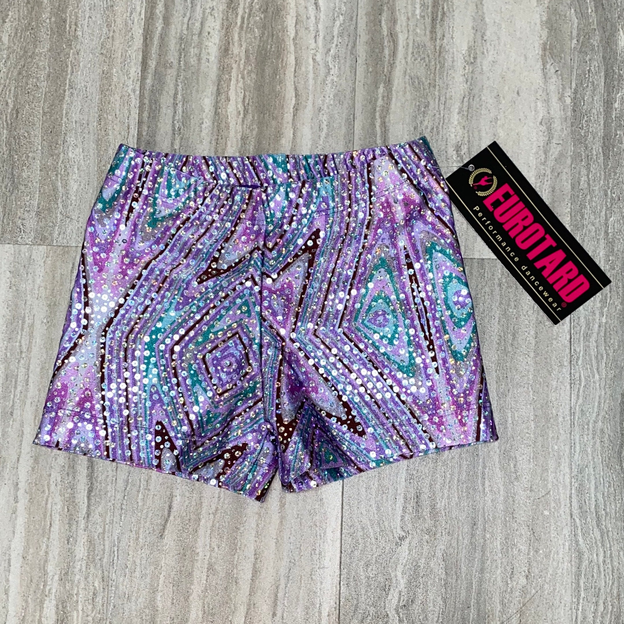 Eurotard Sparkle Mermaid Short