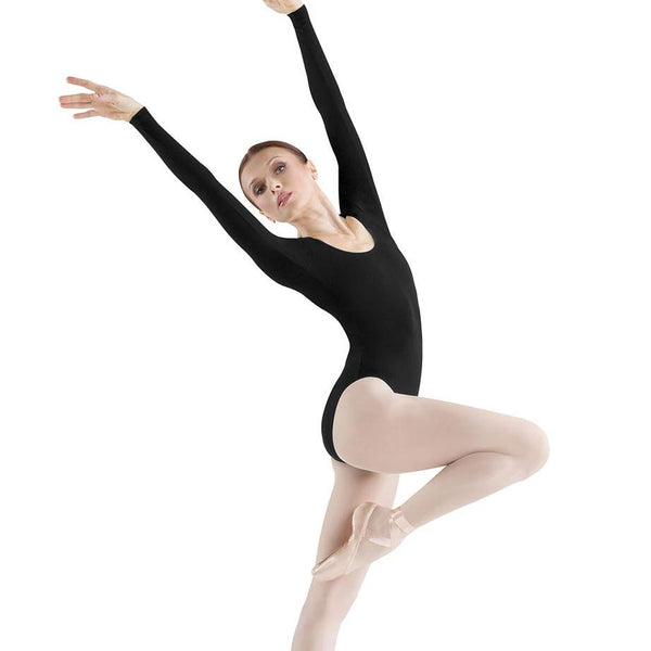 Nylon/Spandex Long Sleeve Leotard
