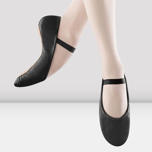 Tween/Adult Black Full-Sole Ballet Shoe
