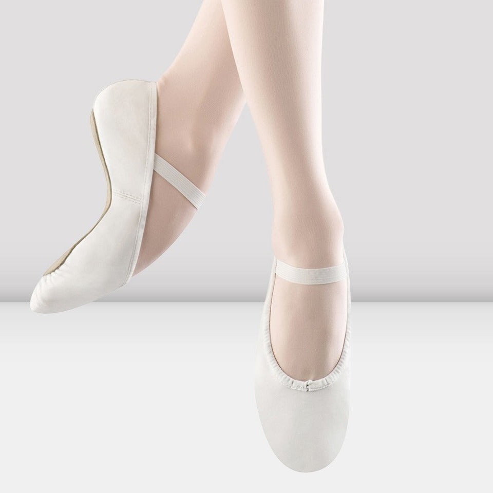 Tween/Adult White Ballet Shoe