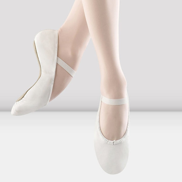 Dansoft Leather Ballet- White