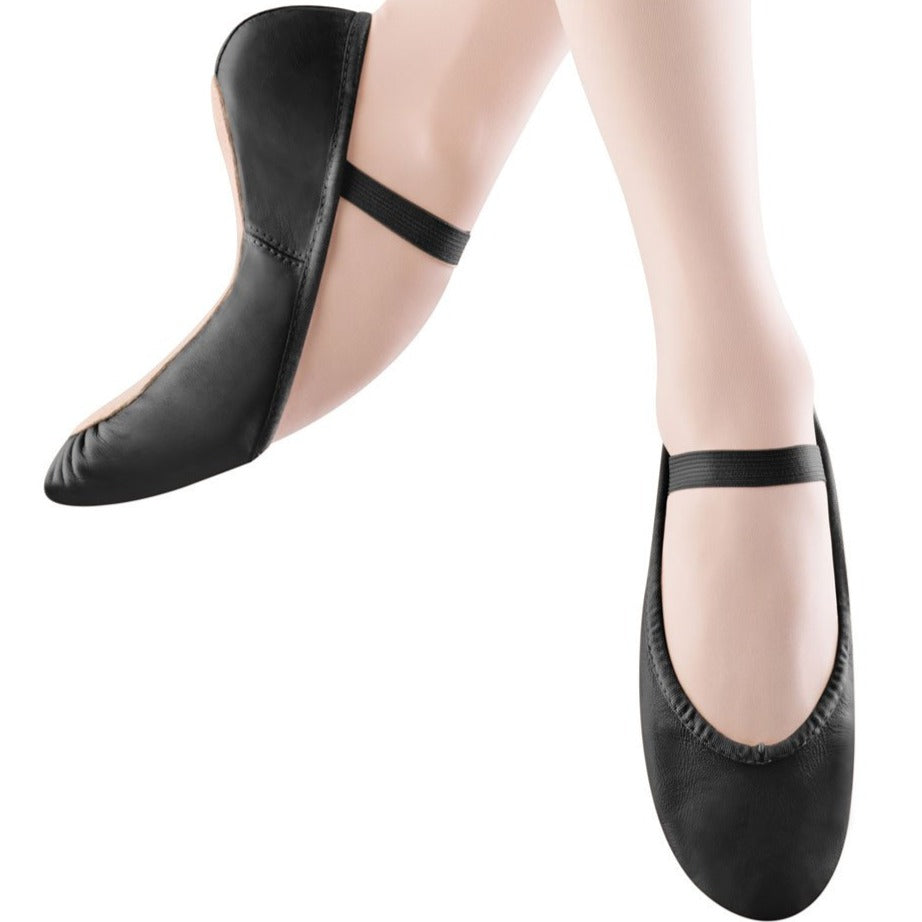 Child Black Full-Sole Ballet Shoe