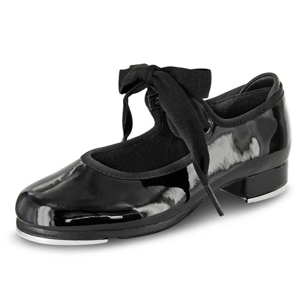 Black Patent Tap Shoe