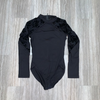 Zip Back Long Sleeve Leotard