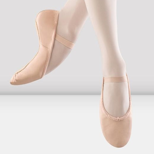 Tween/Adult Pink Leather Ballet