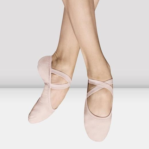 Split-Sole Canvas Ballet