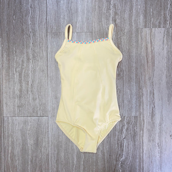 Gelato Braid Cut Out Cami Leotard