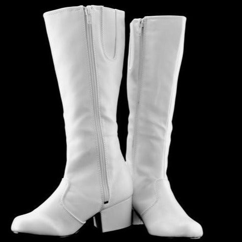 STYLE PLUS #1250 WHITE NANCY BOOT