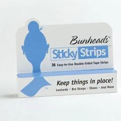 BUNHEADS STICKY STRIPS