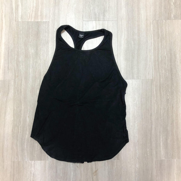 Mesh Detail Tie Back Tank Top