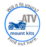 Superwinch 2202913 ATV Mounting Kit for Can-Am Bombardier