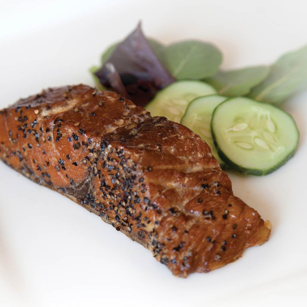 Smoked Peppered Bluefish