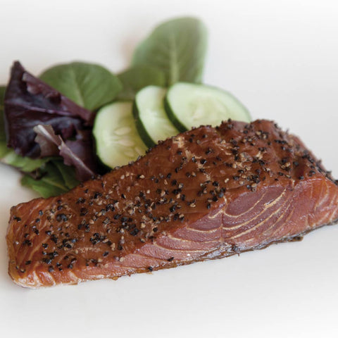 Smoked Peppered Salmon