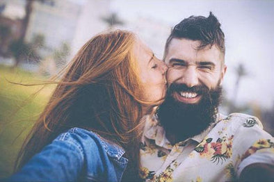 Are Bearded Men Better Boyfriends?