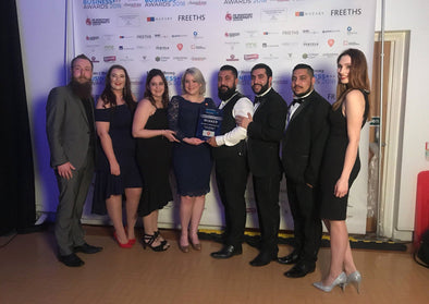 Mo Bro's wins the Leicester Mercury Retail Award of the year!