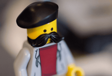 How To Grow Facial Hair Image of a Lego Figure