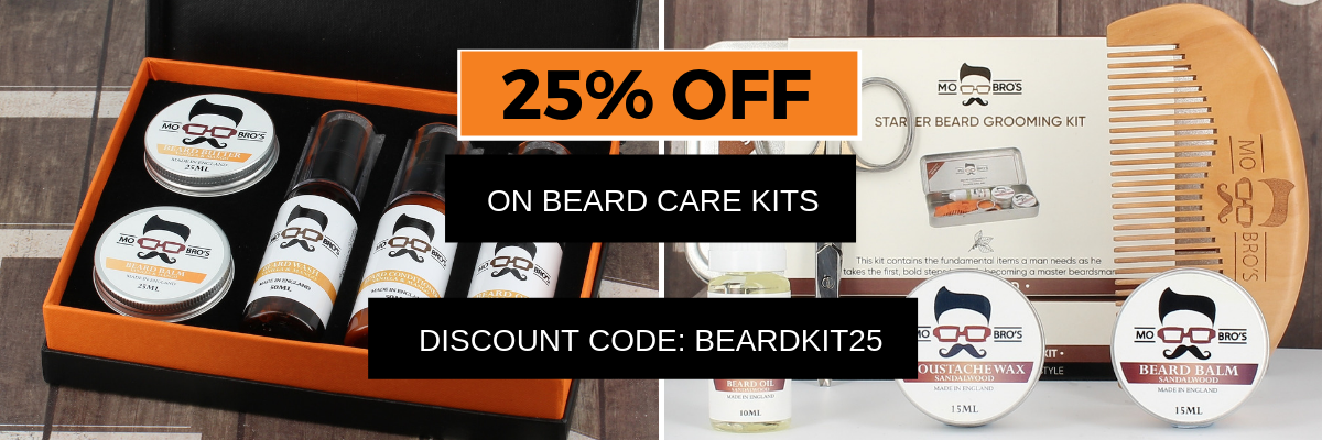 Beard Kits 25% Discount