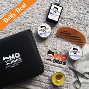 Daily Deal Beard Travel Set Summer SPice