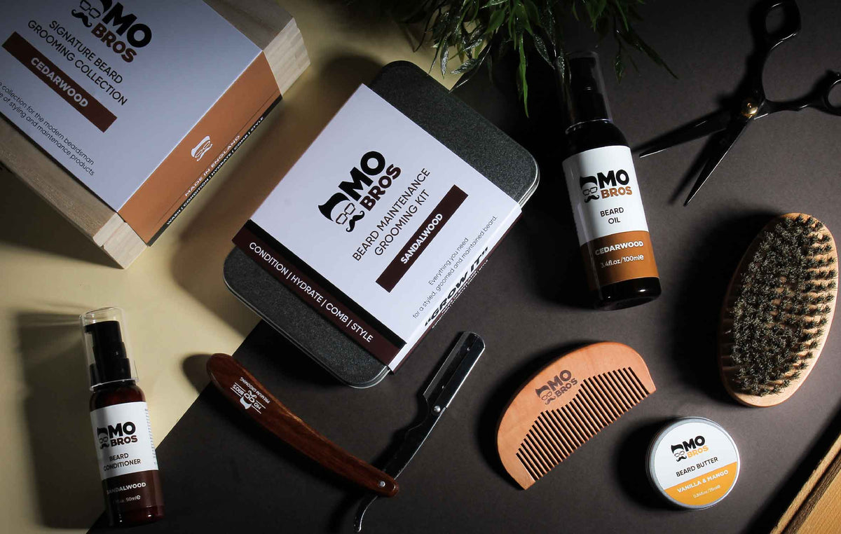 Mo Bros Beard Care Products