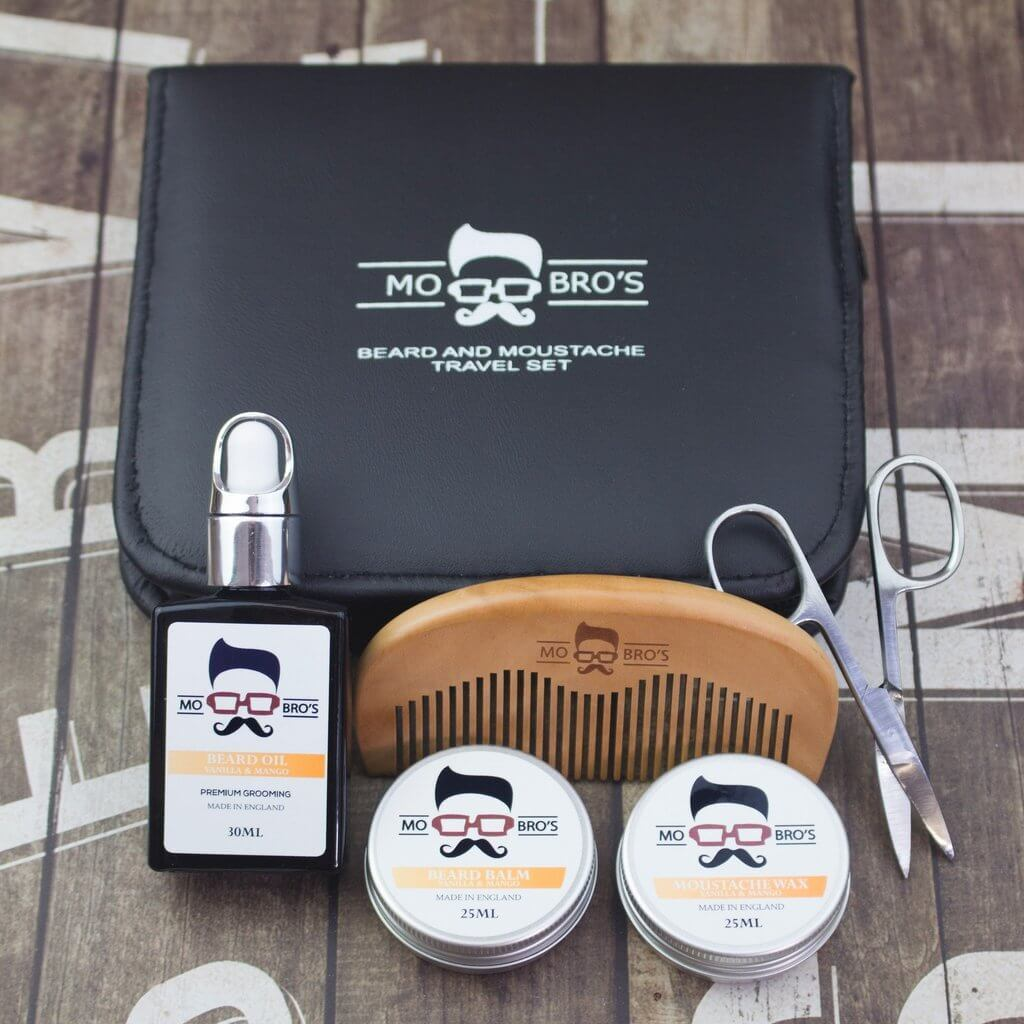 Mo Bro's Beard & Moustache Travel Grooming Set