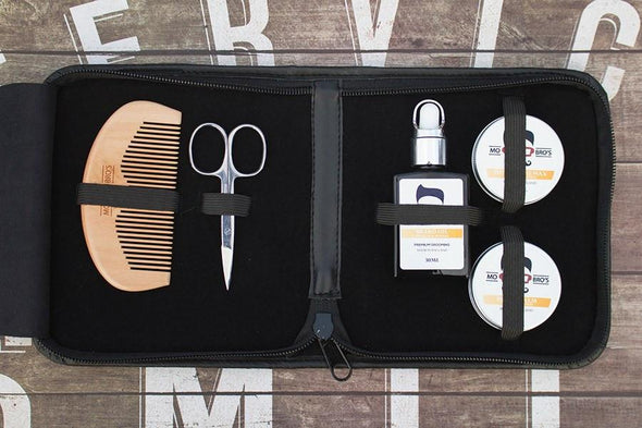 Beard & Moustache Travel Grooming Set
