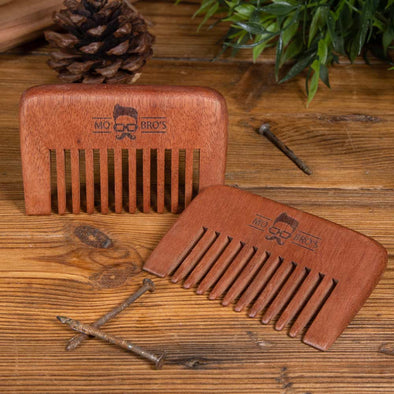 Wide Toothed Wooden Comb - Ideal For Long Beards