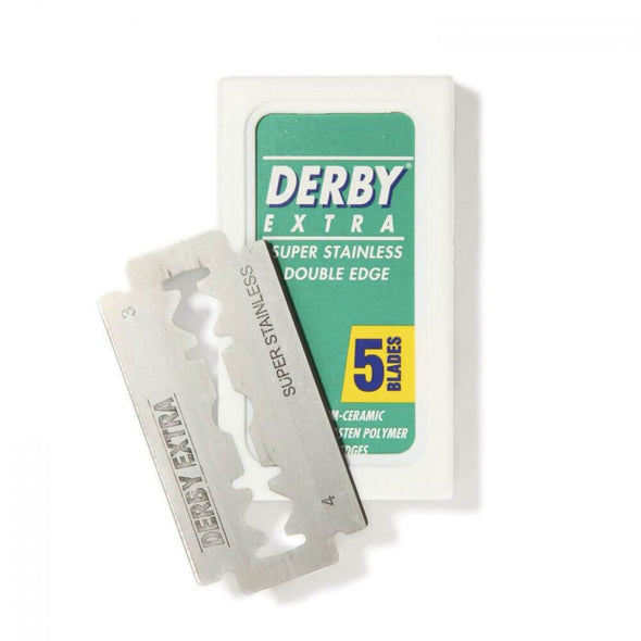 Derby Extra Double Edge Safety Razor Blades (50 blades) - Mo Bros Beard & Moustache Grooming Co