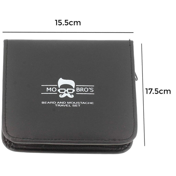 Beard & Moustache Travel Grooming Set - Mo Bros Beard & Moustache Grooming Co