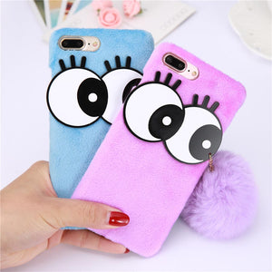 iPhone Cartoon Eye Case