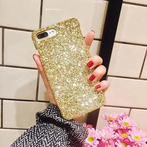 Luxury Glitter Star Case