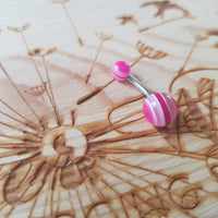 Lined Acrylic Ball Bellyring