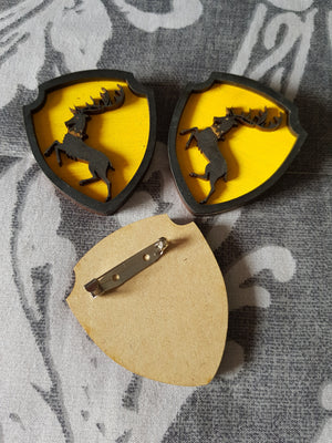 Great House Game Of Thrones Brooch ↠ Baratheon