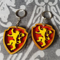 Great House Game Of Thrones Keyring ↠ Lannister