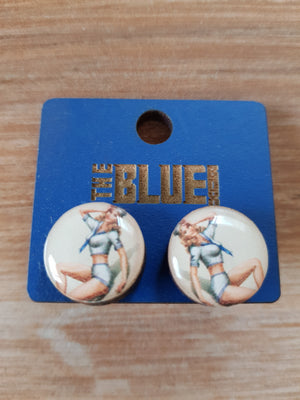 Sailor Babe Stud Earrings