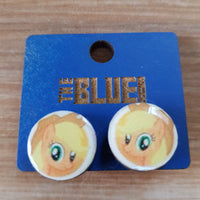 Applejack My Little Pony Stud Earrings